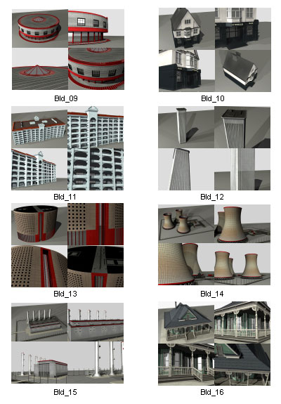 3d-model-house-buildings