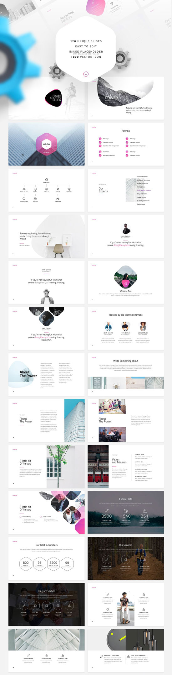 Free PowerPoint templates collection no. 6