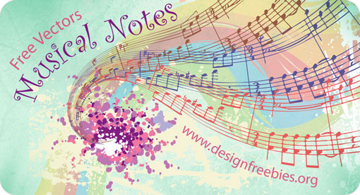 free-vectors-musical-notes