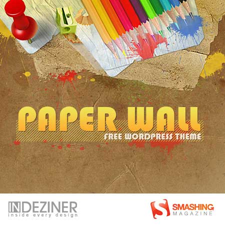paper-wall-wordpress-theme