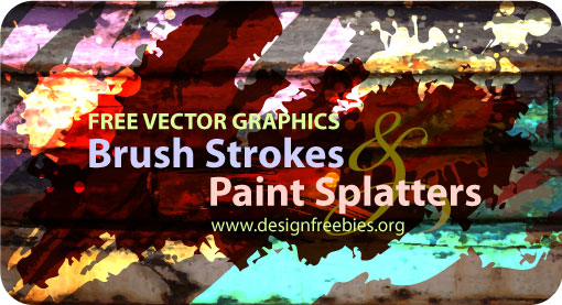 vector-brush-strokes-splatters
