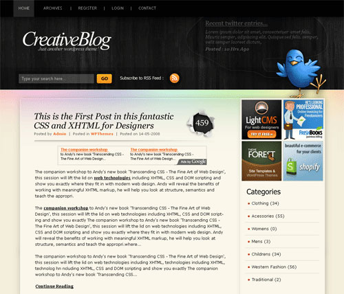 free-blackpower-wordpress-theme
