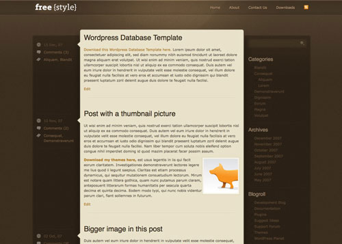 free-freestyle-wordpress-theme