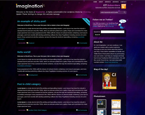 free-imagination-wordpress-theme