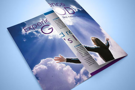 Christian Church and Travel Agency Brochures InDesign Template