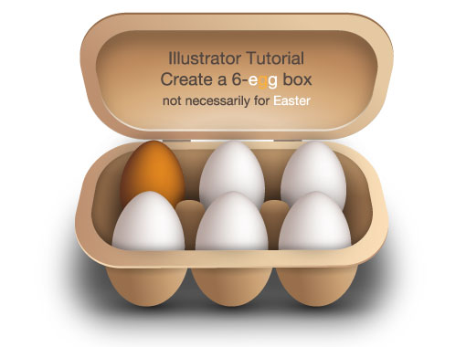 Early 2010 best of vector tutorials in adobe illustrator for Design your own egg boxes