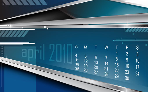 desktop wallpaper calendar. April 2010 Desktop Wallpapers