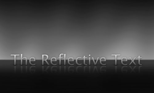 photoshop glass effect. Smooth Glass Text Effect