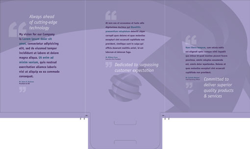 free indesign templates: presentation folders 2 | designfreebies, Powerpoint templates