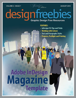 Free exclusive adobe indesign magazine template for Free magazine cover templates downloads