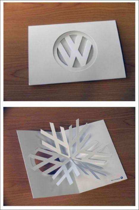 christmas card creative