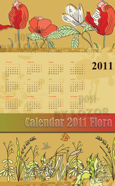 2011 calendar wallpaper desktop. 2011 calendartemplate 7 8 Free