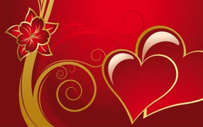 Ultimate Collection of Free Vector Hearts and Valentine Graphics – Valentine Card Background