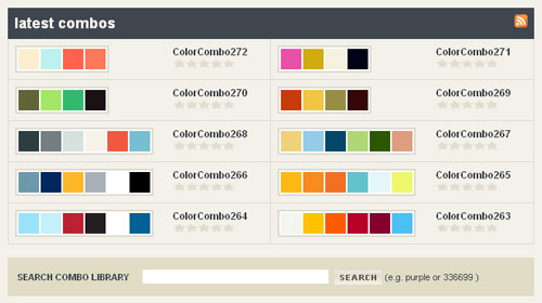 Best Color Combinations color me good: dozen best and useful online color tools