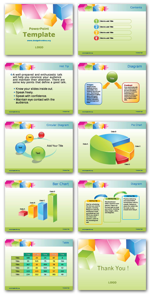 Free Powerpoint Templates Premium Designs Set 1 Designfreebies