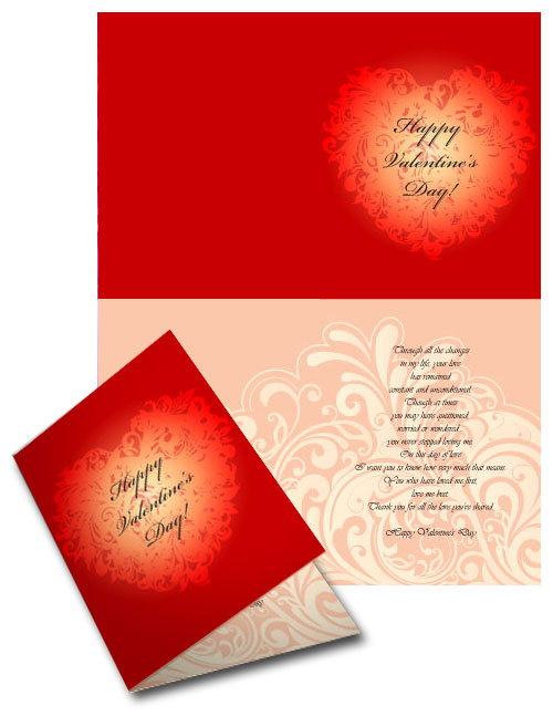 Celebrate love with our free valentine vector greeting cards valentine vector greeting card m4hsunfo