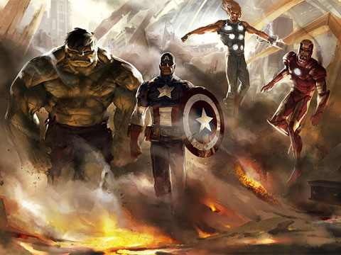 The Avengers 2012 movie artwork 3