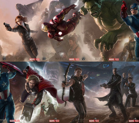 The Avengers 2012 movie artwork 6
