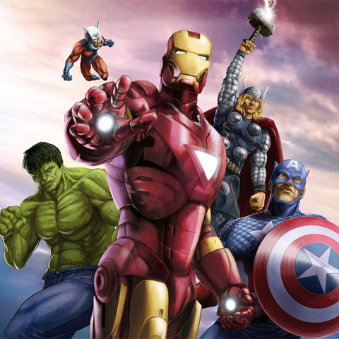 The Avengers 2012 movie artwork 8
