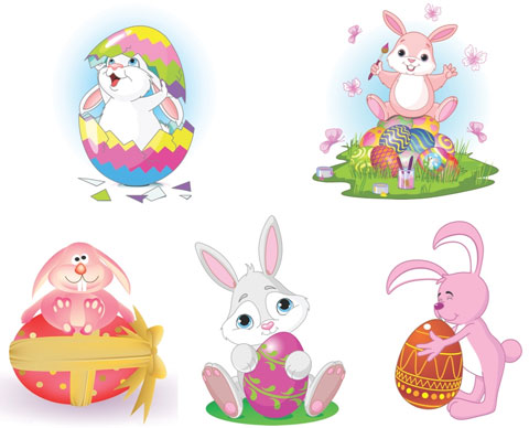 2012 Free Easter Vector 10
