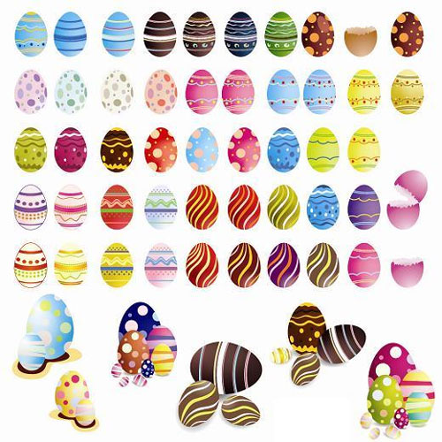 2012 Free Easter Vector 3
