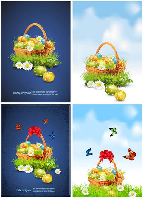 2012 Free Easter Vector 7