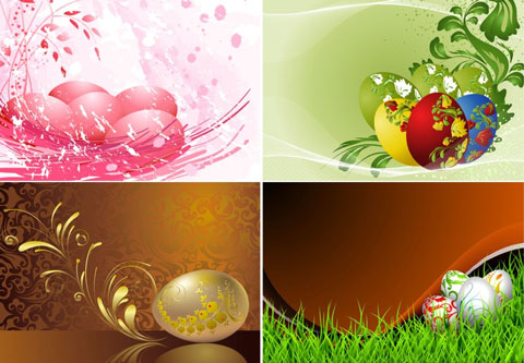 2012 Free Easter Vector 8