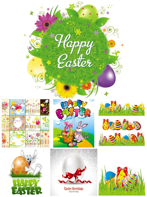 2012 Free Easter Vector 9