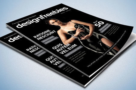 Free Exclusive Adobe InDesign Magazine Template 2