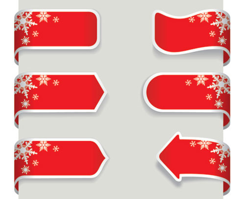 2012 free snowflakes Christmas vector 2