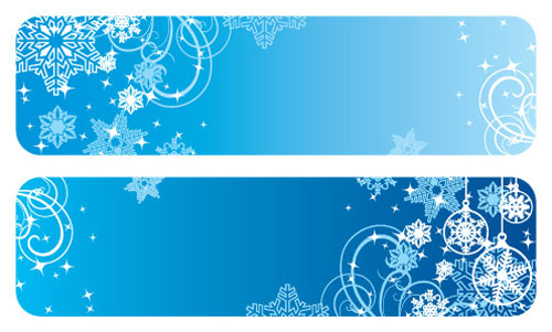 2012 free snowflakes Christmas vector 4
