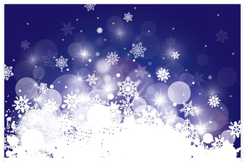 2012 free snowflakes Christmas vector 6