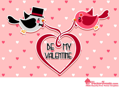 2013 Free Valentine Vector Pack 13