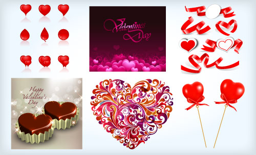 2013 Free Valentine Vector Pack 5