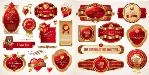 2013 Free Valentine Vector Pack 6