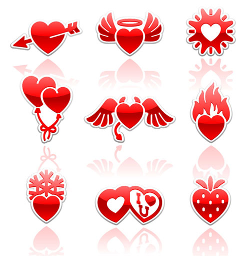 2013 Free Valentine Vector Pack 9