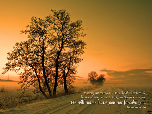 Deuteronomy 31 Inspirational Lenten Christian HD Desktop wallpapers