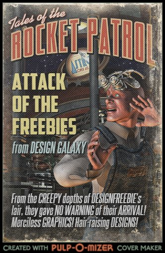 Pulp-o-mizer designfreebies cover art