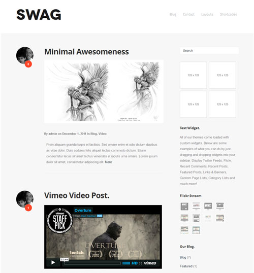 10 Free Minimalist and Responsive WordPress Themes for 2013 ...