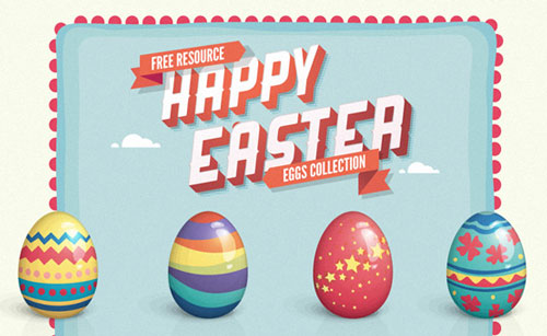 Free easter vector graphics 1