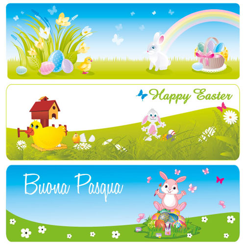 Free easter vector 2013 10