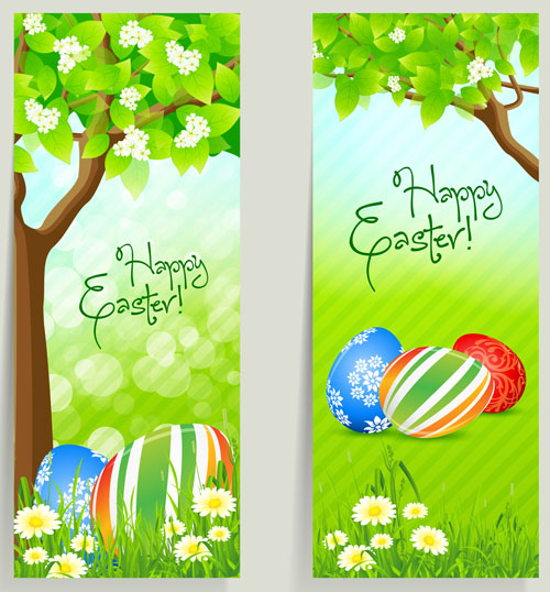 Free easter vector material 3