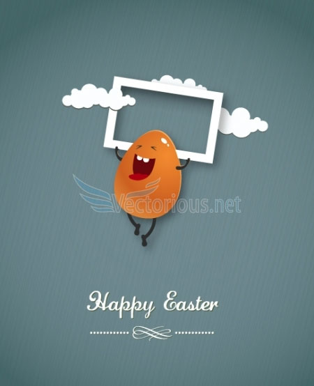 Free easter vector 2013 6