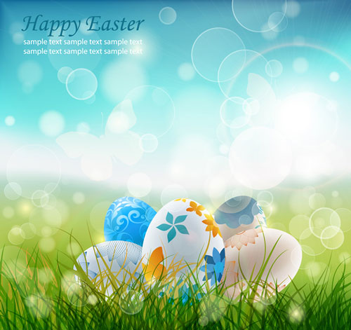 Free easter vector 2013 7