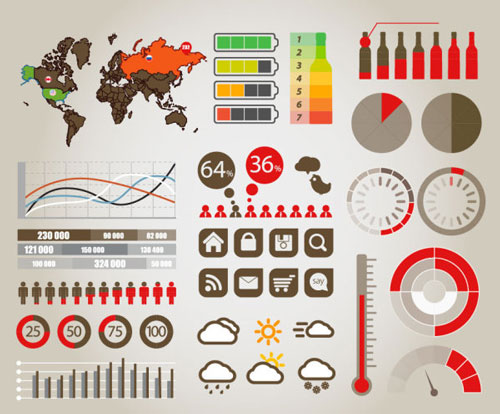 Free infographic vector design elements 10