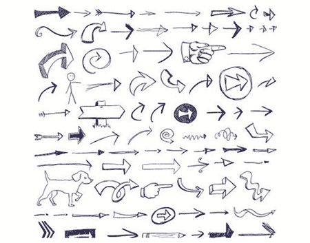 Free vector doodles and sketches 14