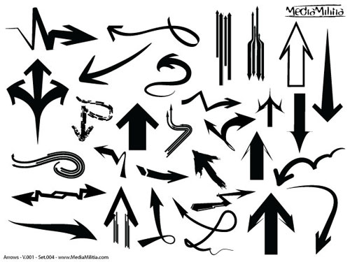 Arrows Pack – 182 Vectors