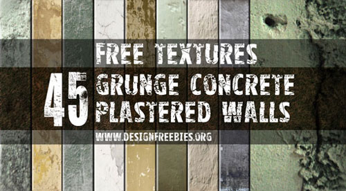 45 Grunge Concrete Plastered Wall Textures