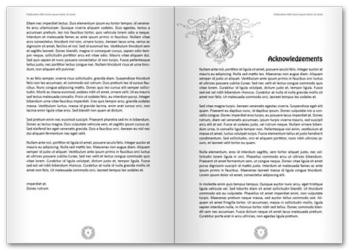 Free InDesign book template spread 3