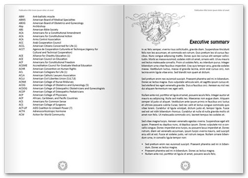 Free InDesign book template spread 6